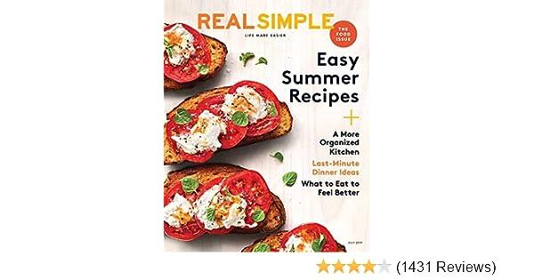 Real Simple: Amazon com: Magazines