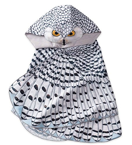 IMAGINING Me Snowy Owl Hooded Dress Up Costume Wings - 15.75 L x 15.75 W x 9.84 -