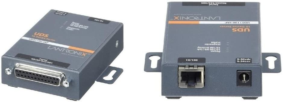 RS232// RS422// RS485 to IP Ethernet Device Server Lantronix One Port Serial I