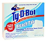Ty-D-Bol In Tank Bleach Toilet Bowl Cleaner - Twin Pack (3)