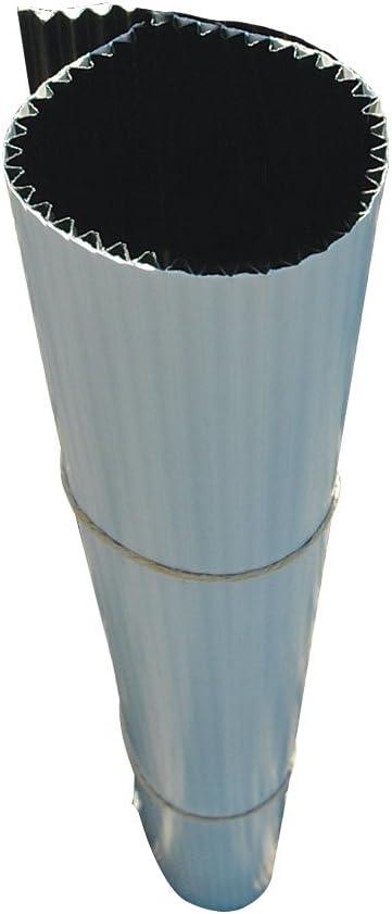 A.M. Leonard Corrugated Plastic Tree Guards, 2-Foot Long, 8-Inch Width (Bundle of 25)