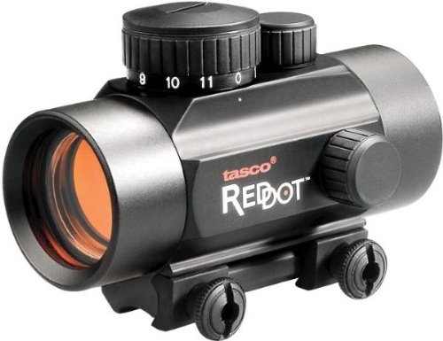 Tasco .22 Rimfire 1x30mm 5 MOA Red Dot Riflescope (22 Magnum Rimfire)