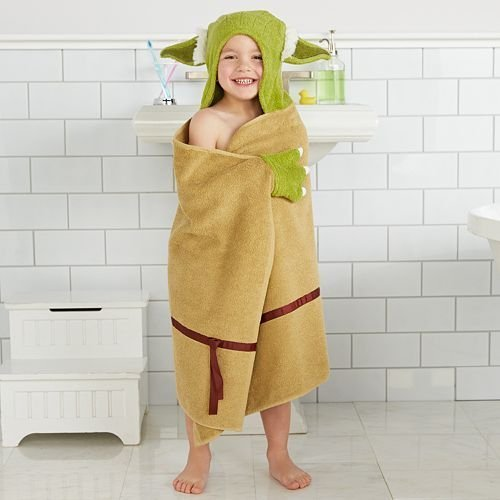 Disney Yoda Hooded Bath Wrap