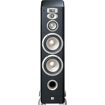 JBL L890 4 Way, High Performance 8 Inch Dual Floorstanding Loudspeaker  (Black