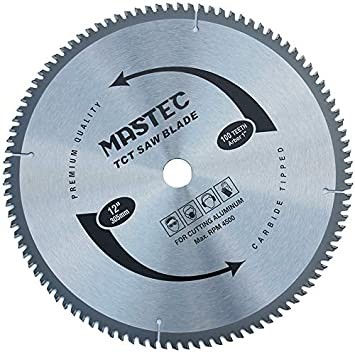 MASTEC 8-1//4 Inch 80 Tooth TCG for Aluminum and Non Ferrous Metals Cutting with 5//8-Inch DMK Arbor