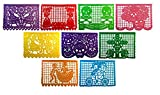 "Day of The Dead PLASTIC Papel Picado ""Un Dia de Memoria"" - Dia De Los Muertos - Designs as Pictured - By Paper Full of WIshes"