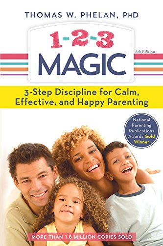1-2-3 Magic: 3-Step Discipline for Calm, Effective, and Happy - Kids Store Magic