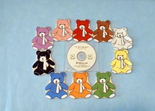 (Teddy Bears Flannel Board Felt Set Story Time with Music)