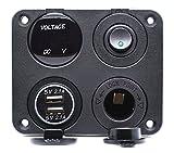 Cllena Dual USB Charger Socket 4.2A + 12V Power