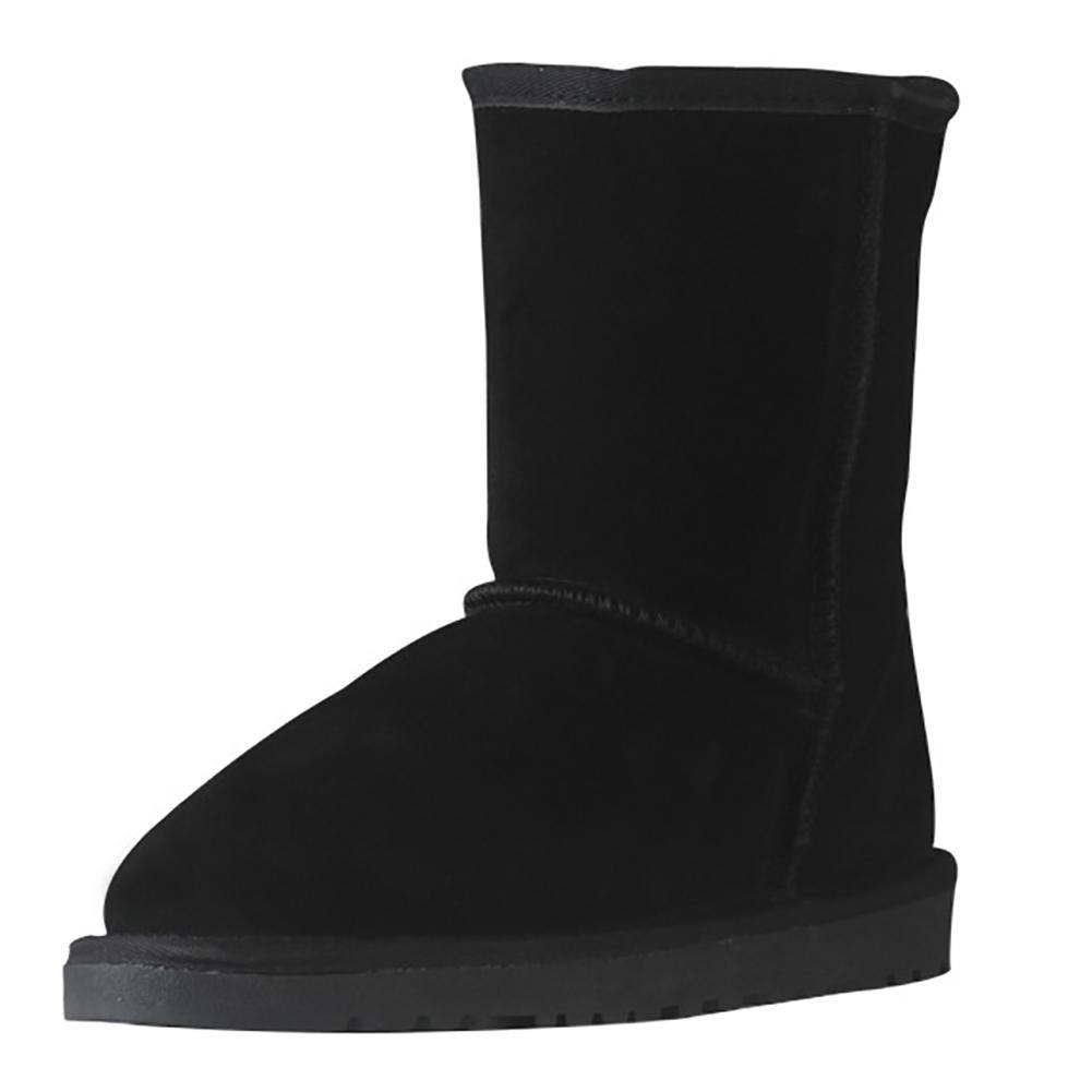 NVX Damen Winter Für einen Warm halten Rutschfest Kurz Handmade Kurz Rutschfest Lammfell Stiefel (eine Größe zu klein), 35 1-35 6f2308