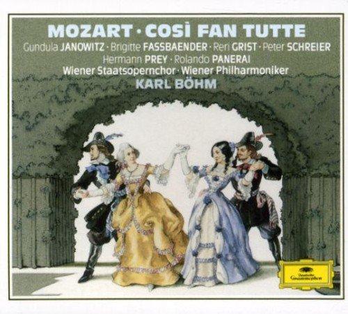 CD : Janowitz - Fassbaender - Cosi Fan Tutte (complete) (Holland - Import, 2PC)