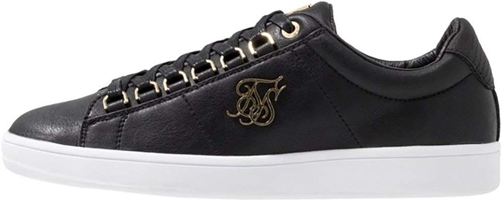 Zapatillas Siksilk Prestige Negro y Oro: Amazon.es: Zapatos y complementos
