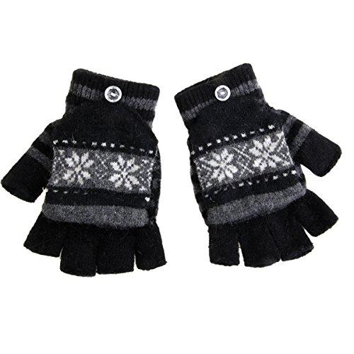 [해외]SEADEAR 겨울 따뜻한 눈송이 USB 가열 된 핑거리스 장갑 노트북 장갑 여자를위한 더 온난 한 장갑 스타일러스를 가진 남자 여자/SEADEAR Winter Warm Snowflake USB Heated Fingerless Gloves Laptop Gloves Hands Warmer Gloves for Women Men Girl...