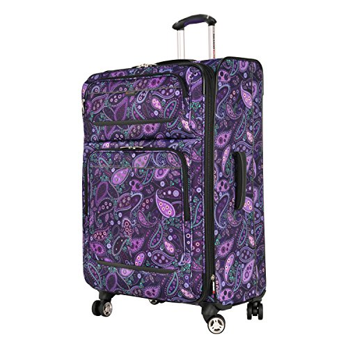 Ricardo Beverly Hills Mar Vista 28-Inch 4 Wheel Expandable Upright, Purple Paisley, One Size by Ricardo Beverly Hills