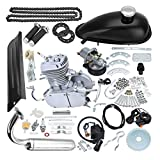 TDPRO Upgraded 80cc Motorized Bicycle Bike 2 Stroke Gas Motor Engine Kit | Complete Petrol Cycle Motor Set
