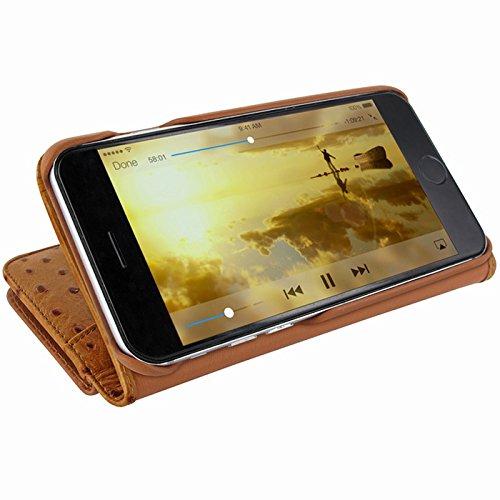 Piel Frama U7 64AV Etui pour iPhone 7 Autruche Beige