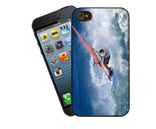 Planche à voile, Housse 2, Coque pour iPhone 4/4S–Design by Eclipse idées cadeau
