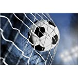 Soccer Ball Canvas Wall Art Print, 5 Stars Gift Startonight 23.62 X 35.43 Inch