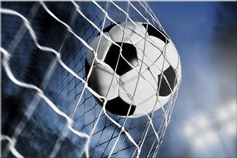 Startonight Wall Art Canvas Soccer Ball, Sports USA Design For Home Decor,  Dual View
