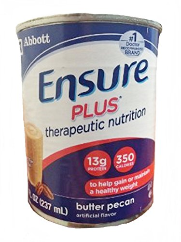 Ensure Plus Ready To Use (Butter Pecan) 24/8 Fl Oz Cartons 1 Case Of 24