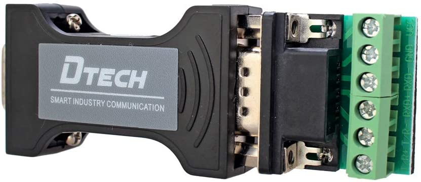 Adaptador convertidor de datos RS232 a RS485 / RS422 DTECH