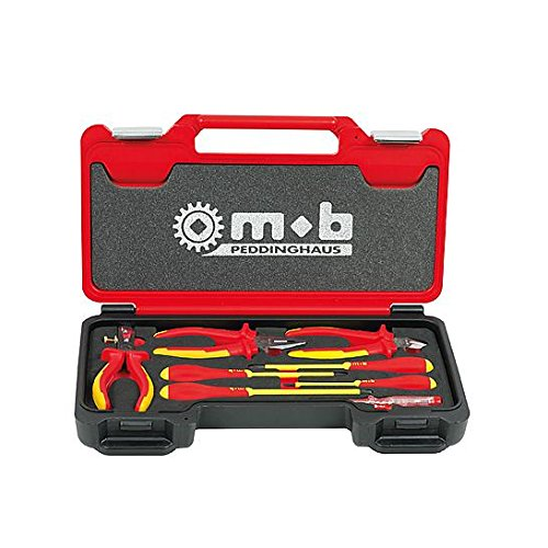 MOB Peddinghaus 8-Piece Fusion Box Insulated Plyer & Screwdriver Tools by MOB Peddinghaus