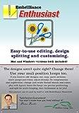 Embrilliance Enthusiast Editing, Design Splitting & Customizing Embroidery Machine Software