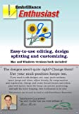 Embrilliance Enthusiast Editing, Design Splitting & Customizing Embroidery Machine Software