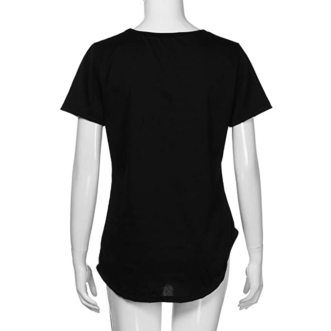 Amazon.com: Blouse for Womens, FORUU Short Sleeve Solid Criss Cross Front V Neck T Shirt Top: Clothing