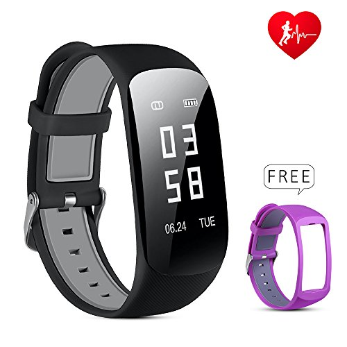 Lio SHAAR Fitness Tracker, Smart Watch Activity Tracker with Menstration Calendar with Heart Rate Monitor Step Pedometer Sync Sports Data for Android and iOS