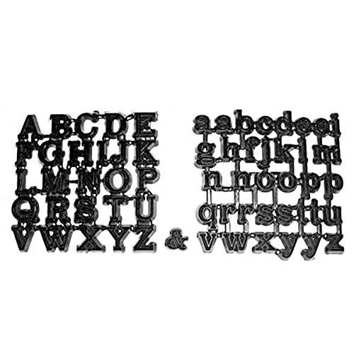 Classic Alphabet Patchwork Cutters
