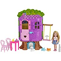 Barbie Chelsea Doll and Treehouse Playset