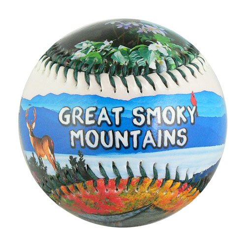 EnjoyLife Inc Great Smoky Mountains Souvenir (Souvenir Baseball)