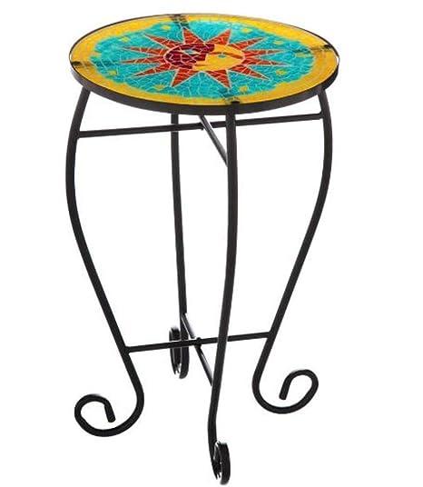 Amazon.com: Easy2Find - Mesa redonda para jardín o patio ...