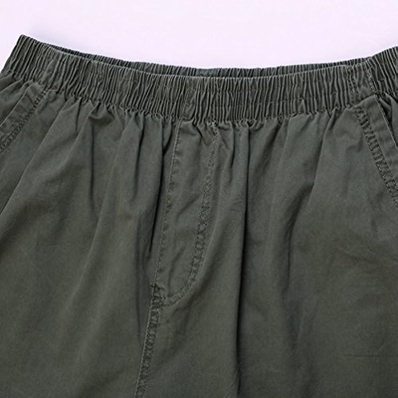 Heheja męskie krÓtkie spodenki cargo do kolan, bawełna, bermudy: Odzież