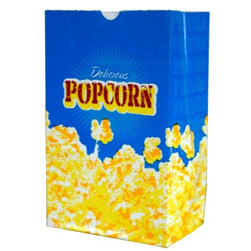 Popcorn 3-Ounce Butter Bags, Medium (100 Per Case) ()