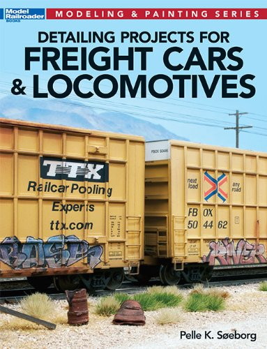 (Detailing Projects for Freight Cars & Locomotives (Modeling & Painting Series) )