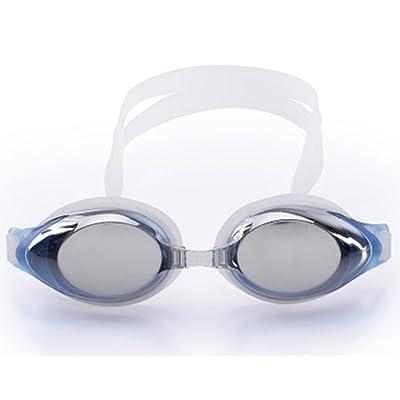 À La Mode Galvanoplastie Anti-buée Protection UV Imperméable Lunettes De Natation HD Lunettes Unisexe