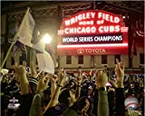 """Wrigley Field Chicago Cubs 2016 World Series Game 7 Celebration Photo (8"""" x 10"""")"""