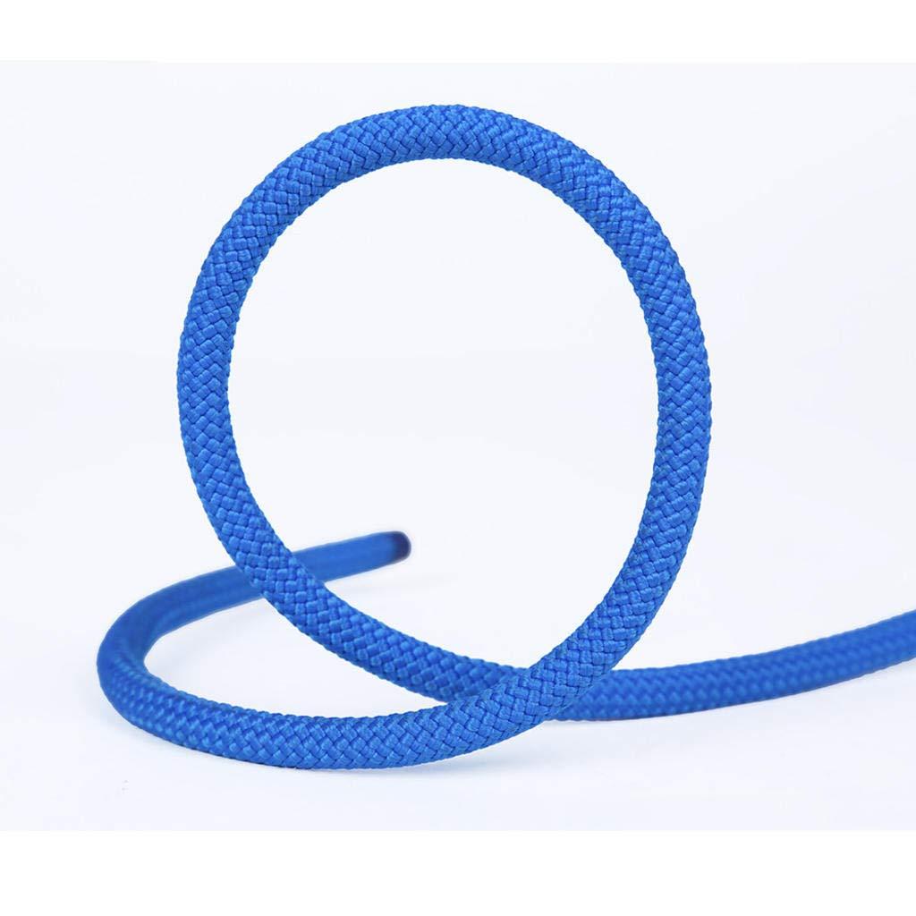 Bleu MODKOY Corde Statique, 8 mm de diamètre extérieur de la Corde de Descente en Rappel sécurité Corde Corde d'escalade auxiliaire 50meters
