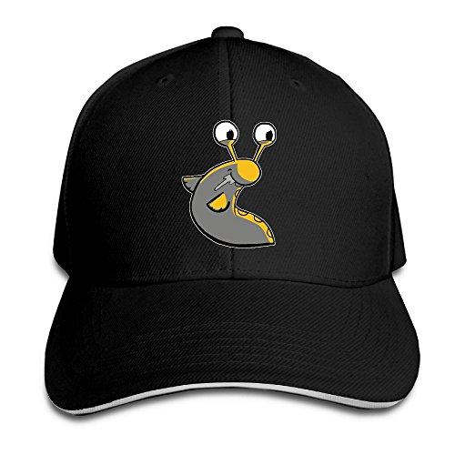 - ABCDQ7-G Cute Slug Funny Print Trucker Sandwich Adult Cap