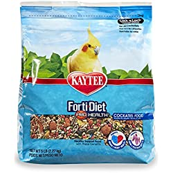 Kaytee Forti-Diet Pro Health Cockatiel Food, 5 Ib
