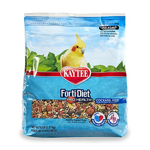 Kaytee Forti-Diet Pro Health Cockatiel Food, 5 Ib ()