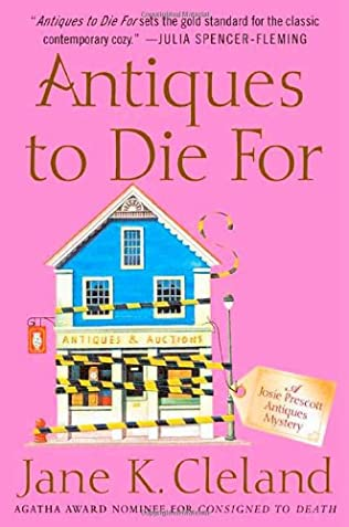 book cover of Antiques to Die for