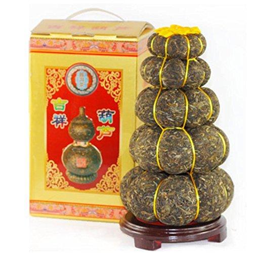 1000g Yunnan Pu-erh Tee Geschenk Handwerk Pu Er Tee Kürbis Dekoration Puer Roh 茶 by FOOD CO