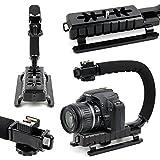 DURAGADGET - Poignée stabilisateur pour appareil photo Fujifilm X-T2, Casio EX-FR110H, Flir TG165 et Lomo Diana Mini et accessoires