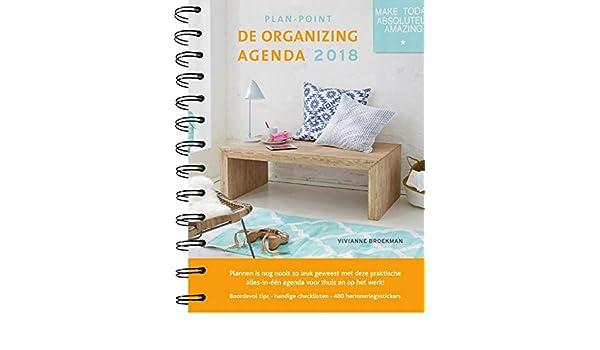 De Organizing Agenda 2018: Amazon.es: Vivianne Broekman, Els ...