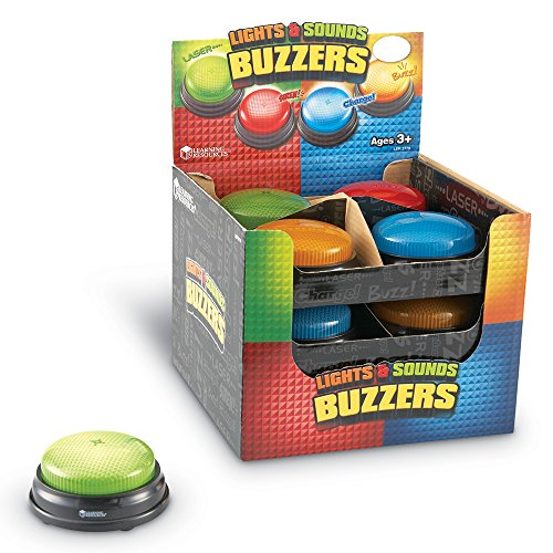 Learning Resources Lights and Sounds Buzzers, Set of 12 by Learning Resources (Image #3)