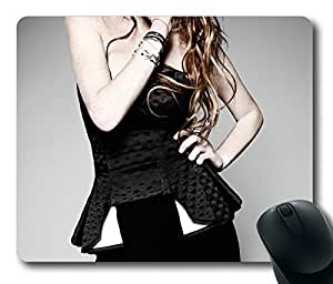 Sexy Long Hair Girl Rectangle mouse pad by Custom Service Your Best Choice