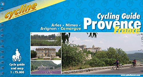Bike Map (Provence Cycling Guide: Arles/Nimes/Avignon/Camargue - BIKE.FR.21.E (Cycline) 1:75K)